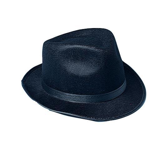 Felt Black Fedora Hat