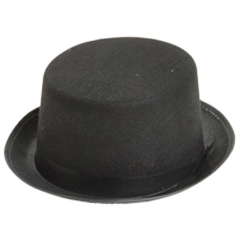 Felt Black Top Hat