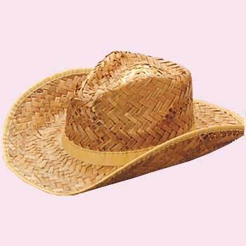 Rolled Cowboy Hat Tan