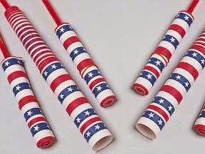 4th Of July Patriotic Chinese Yo-Yos (One Dozen)