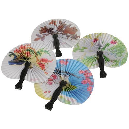 Small Folding Fans (1 dozen)