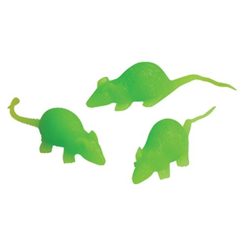 Glow Stretchy Mice (Pack)