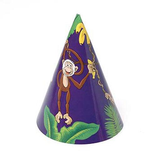 Monkey Paper Hats (One dozen)