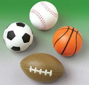 Squeeze Sport Balls (One Dozen)