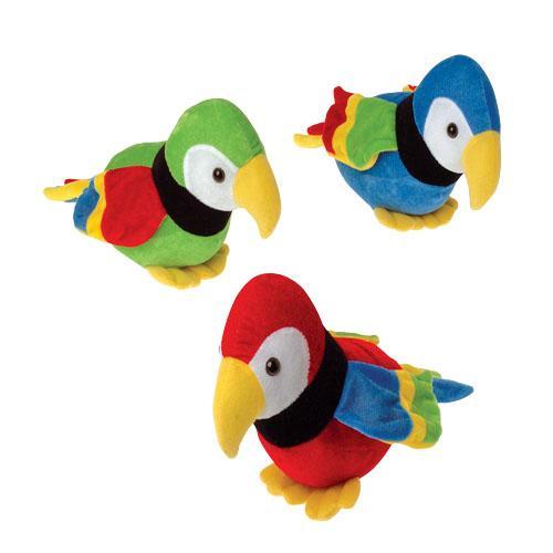 Plush Parrots (1 Dozen)