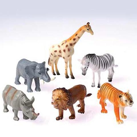 Wild Animals - 4 Inch (One dozen)
