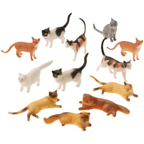 Animal Toys Cats (One Dozen)