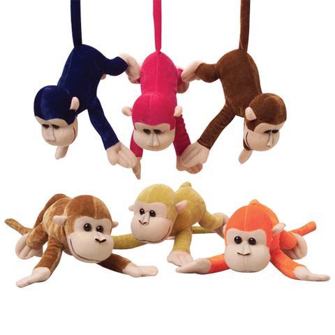 Wild Monkeys With Bendable Tails (One Dozen)