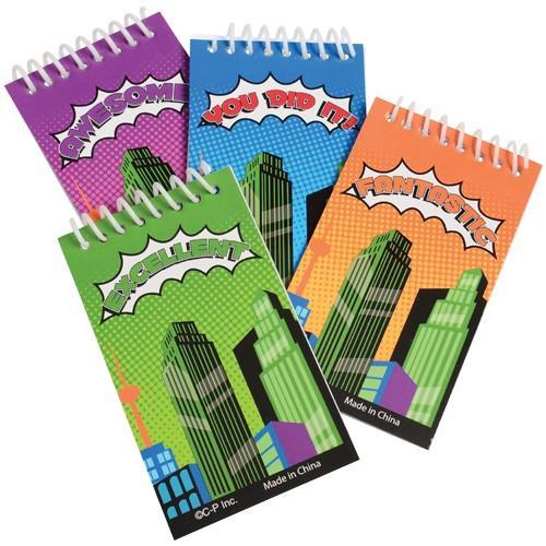 Superhero Notebooks (one dozen)