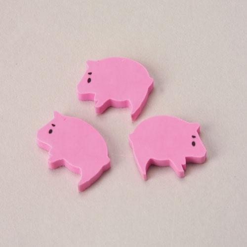 Mini Pig Erasers (144 pieces)