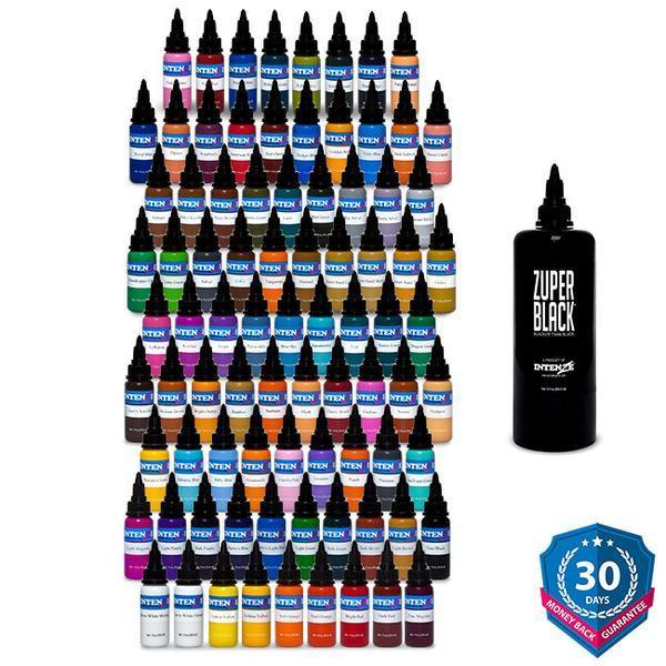 101 Color Tattoo Ink Set