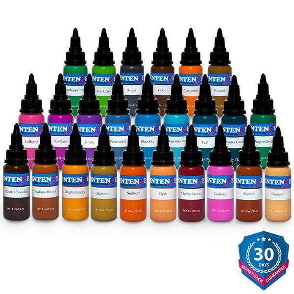 25 Color Tattoo Ink Set