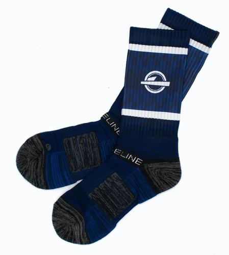 ISlide Navy Socks