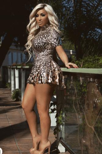 Newyork Embellished Dress