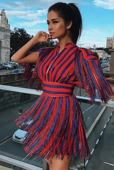 Wild Love Tassel Dress