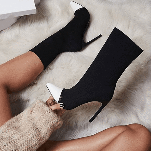 Daly Black Ankle Boots