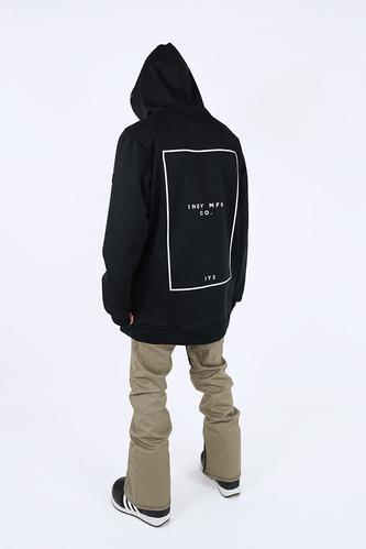 Mens Battalion Tech Snowboard Hoodie - Black