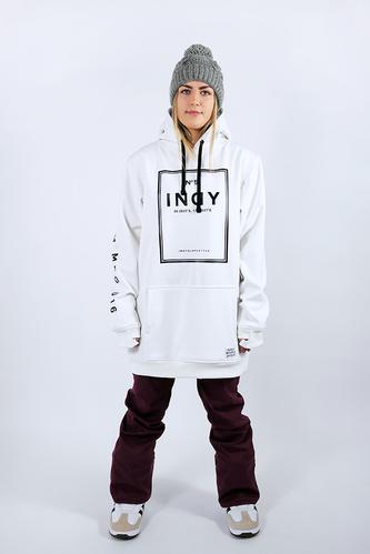 Womens Gigi Tech Snowboard Hoodie - White