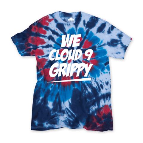 We Cloud 9 Grippy Tie Dye Tee