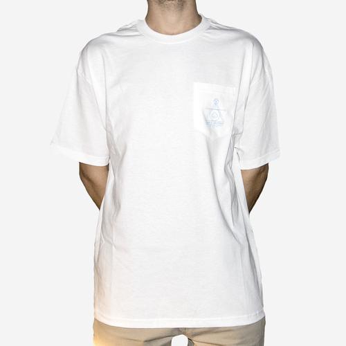 Symmetry Pocket T-Shirt White