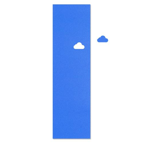 Cloud Die Cut Blue Griptape