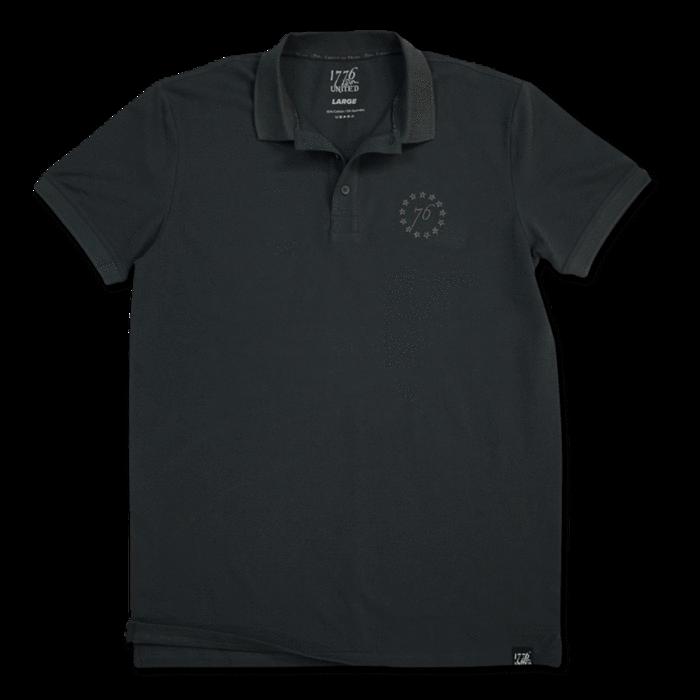 1776 United® Signature Polo - Charcoal