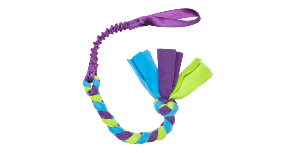 Bungee Handled Fleece Tug