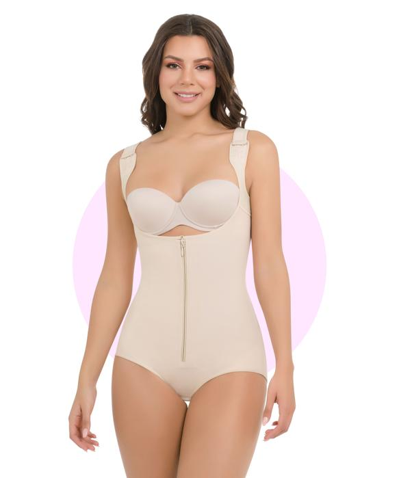 385 / 398 - Thermal Body Shaper with Wide-Straps