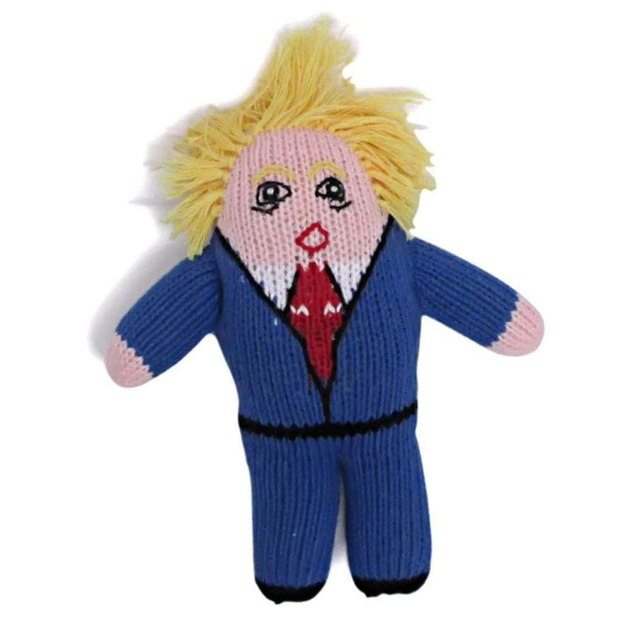 Organic Mr. President Rattle Baby Toy