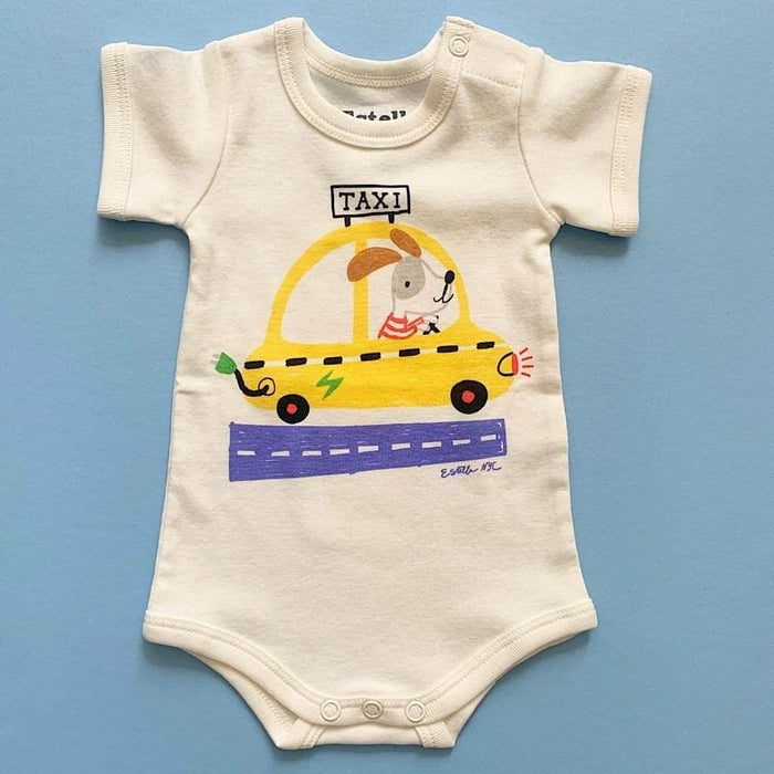 Organic Taxi Baby One-Piece