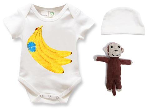 Organic Baby Gift Set - Banana