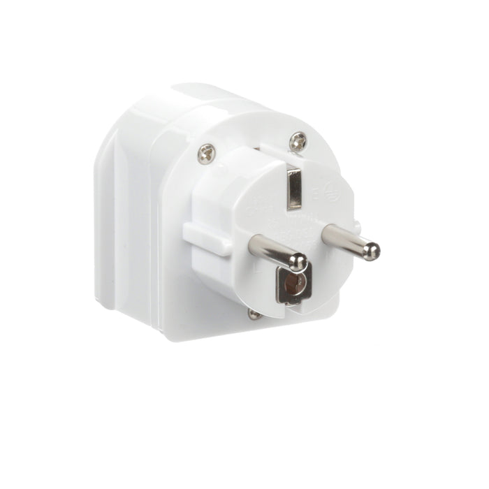 Ceptics South Africa to Europe Schuko Grounded Plug Adapter (Grounded)