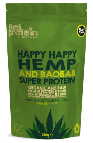 Offer Pack Happy Happy Hemp and Baobab Super Protein