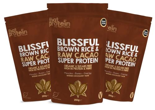 Blissful Brown Rice and Raw Cacao Triple Pack