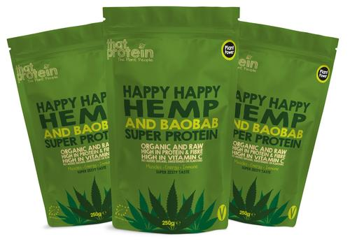 Happy Happy Hemp and Baobab Triple Pack