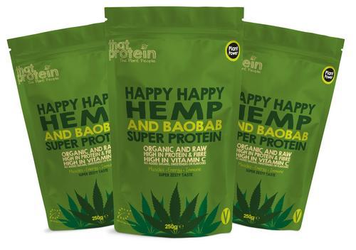 Happy Happy Hemp and Baobab Triple Pack