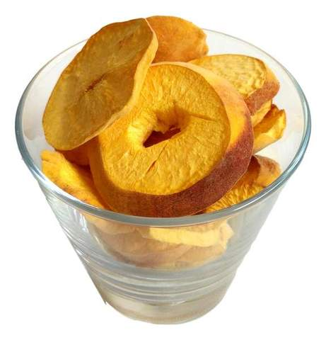 Freeze Dried Peach Snack Pouch