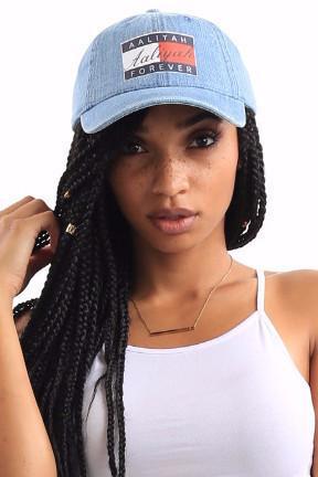 2db7e246e3bf Aaliyah Forever Denim Cap