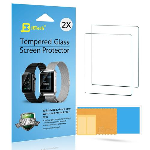 Apple Watch Screen Protector JETech 2-Pack 42mm Premium Tempered Glass Screen Protector for Apple Watch (42mm)