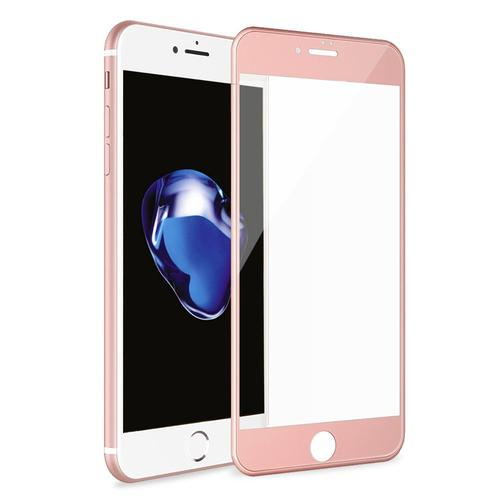 Betemp saa-22 3D Full Coverage Tempered Glass Pet Frame Edge to Edge Crash Protection Curved Scratch Proof Bubble Free Tempered Glass Screen Protector Film for iPhone 7 Plus - Rose Gold iPhone 7 Plus Rose Gold