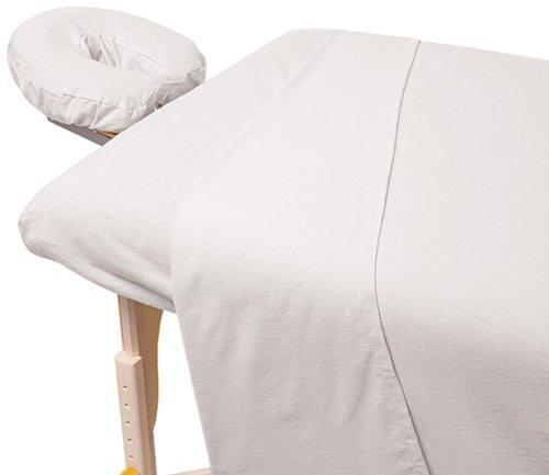 For Pro Premium Flannel Sheet 3 Piece Set White
