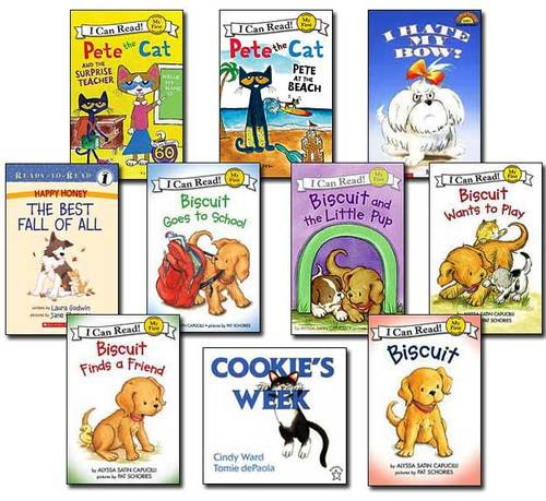 10 Leveled Books at Guided Reading F / DRA 10 (Set #F13)