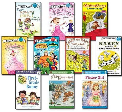 10 Leveled Books at Guided Reading J / DRA 16 (Set #J19)