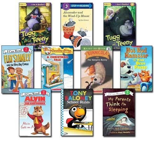 10 Leveled Books at Guided Reading L / DRA 20 (Set #L2)