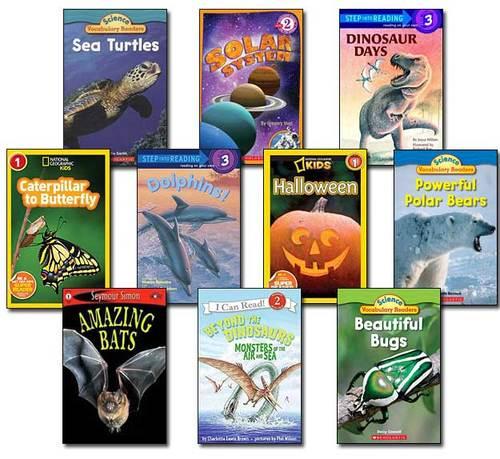 10 Leveled Books at Guided Reading L / DRA 20 (Set #L9)