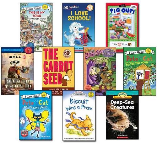 10 Leveled Books at Guided Reading G / DRA 12 (Set #G10)