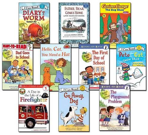 10 Leveled Books at Guided Reading I / DRA 16 (set #I24)
