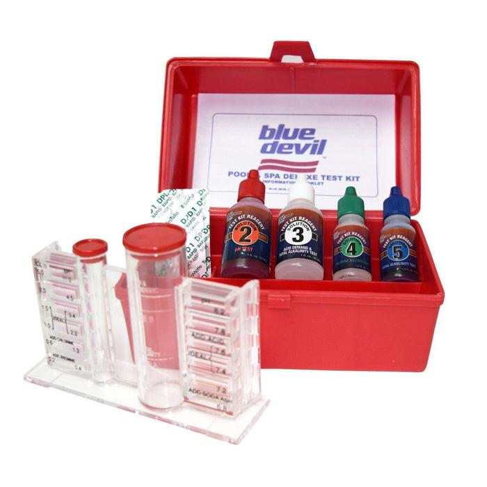 5 Way DPD Chlorine/Bromine, pH, Alkalinity and Acid Pool test kit