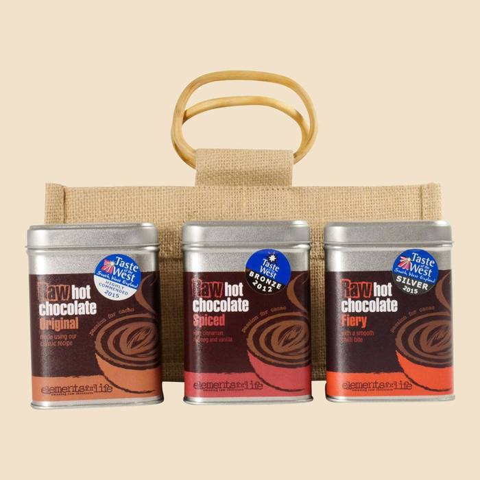 Raw Cacao Triple Hot Chocolate Gift Bag