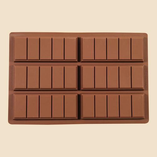 5 Chunk Chocolate Bar Mould